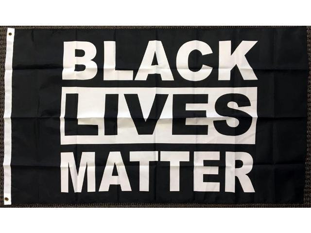 3x5 Black Lives Matter Polyester Flag BLM Peace Protest Outdoor Banner Pennant