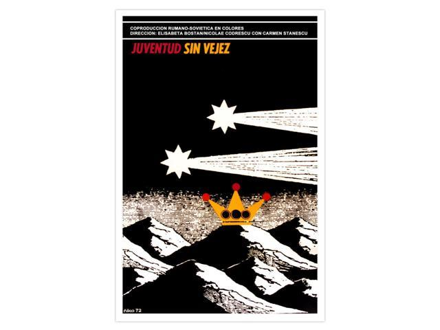 Decor Graphic Design movie Poster.Cuban artist Amelia PELAEZ.Colorful flower art