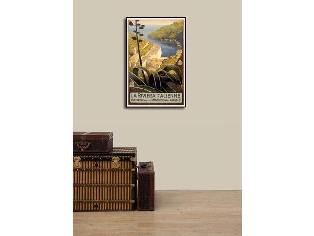 Italian Riviera at Portofino 1920s Classic Travel Poster Art Print 16x24