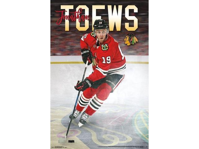 CHICAGO BLACKHAWKS 2018 POSTER 22x34 JONATHAN TOEWS NHL HOCKEY 16269