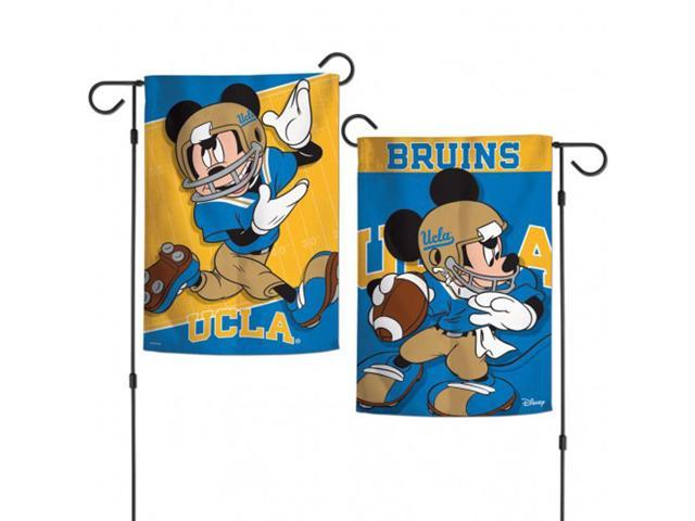 "Texas Longhorns NCAA Mickey Mouse Garden Flag Licensed 2-Sided 12.5/"" x 18/"""