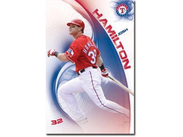 uk availability c174c cb2f7 BASEBALL POSTER Josh Hamilton Texas Rangers MLB - Newegg.com