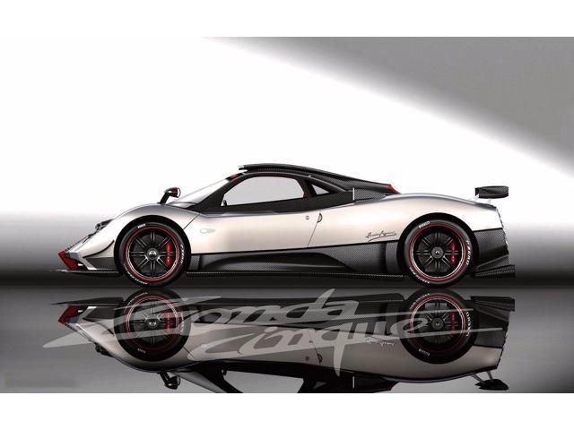 "2009 Pagani Zonda Cinque supercar supercars Poster  24/""x36/"" HD"