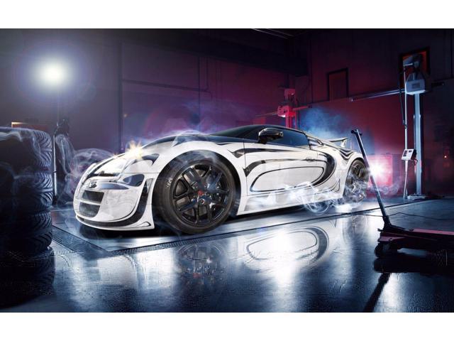 "Bugatti Veyron Super Car Poster 24/""x 36/"" HD"
