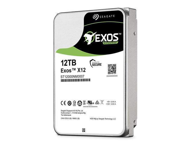 Seagate Exos x12 12TB HDD SATA 6Gb/s 3 5