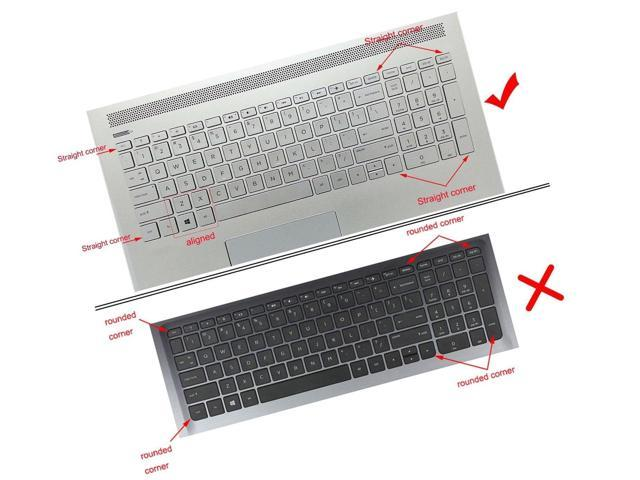 """Silicone Keyboard Cover Skin for for 15.6/"""" HP Pavilion x360 15-br075nr Pavil..."""