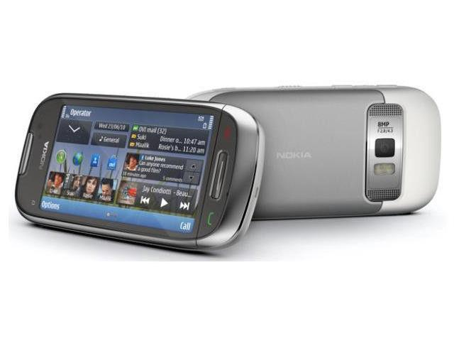 Nokia Astound C7 - Frosty metal Silver (T-Mobile) Symbian Smartphone Cell  Phone - Newegg com