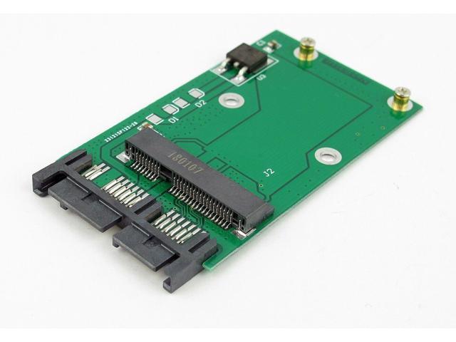 """Mini PCIe PCI-e MSATA 3x5cm SSD To 1.8/"""" Micro SATA uSATA Adapter Converter Card"""