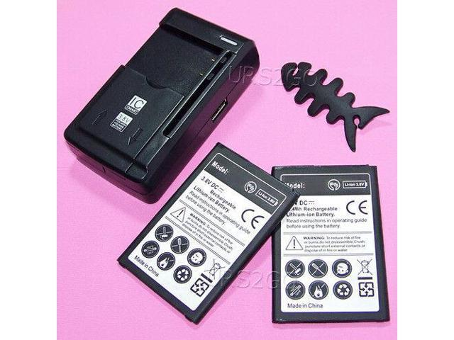 Long Lasting 2600mAh Battery Universal Charging Charger for LG Zone 4  LM-X210VPP - Newegg com