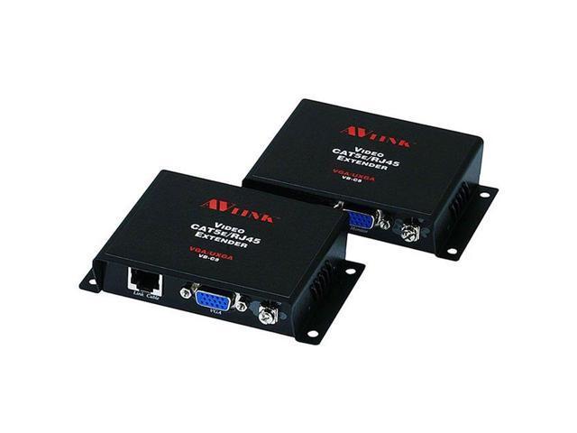 VGA SVGA Video Extender Balun Adapter Over CAT5/CAT6/RJ45 Up To 100M/328FT  HD15 - Newegg com