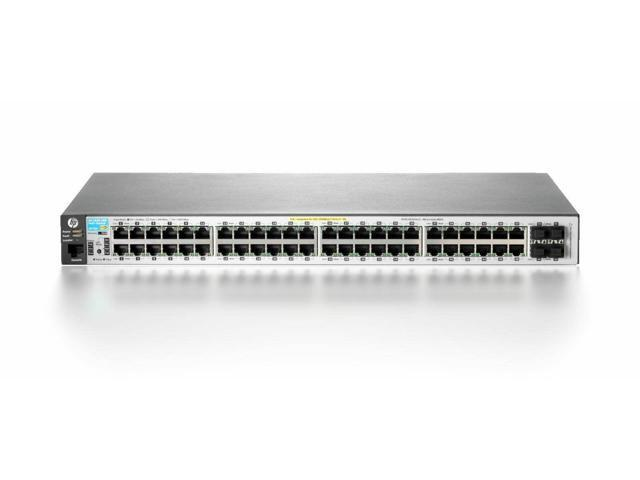 Managed Hewlett Packard Hp Procurve Switch 2910Al-48G-Poe+ Fas Ethernet Switch 48 Ports