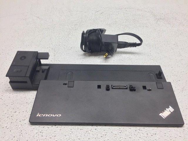 Lenovo ThinkPad Pro Dock Laptop Docking Station Type 40A1 W//Key and Power Supply
