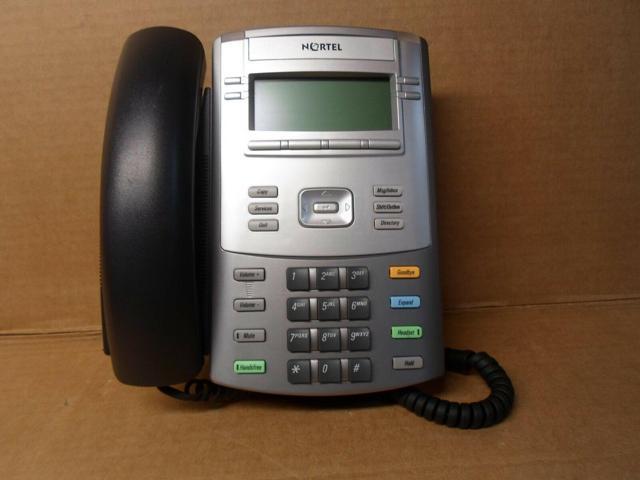 Refurbished: Nortel Avaya 1120E NTYS03 IP Business Telephone Phones VOIP  Display - Newegg com