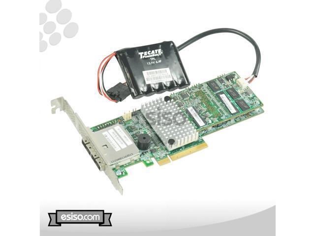 Used - Like New: 9285CV-8E LSI SATA SAS MEGARAID CONTROLLER 1GB CACHE 6G  PCI-E 2 0 x8 W/BATTERY - Newegg com