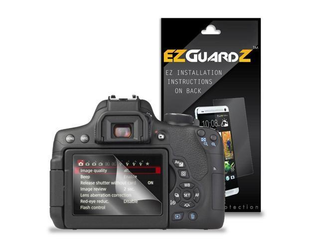 2X EZguardz LCD Screen Protector Cover HD 2X For Canon EOS 750D, EOS Rebel  T6i - Newegg com