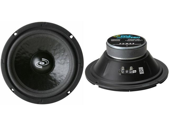"""2 8/"""" Woofer MidRange Speakers.8ohm.eight inch.Replacement.Pair.Home Audio NEW"""