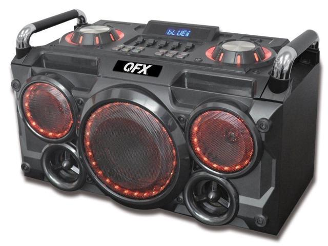 Qfx Pbx 265 6 25 In Portable Party Pa System Amp Boom Box