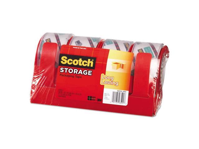 Scotch moving /& storage packaging tape 3 rolls