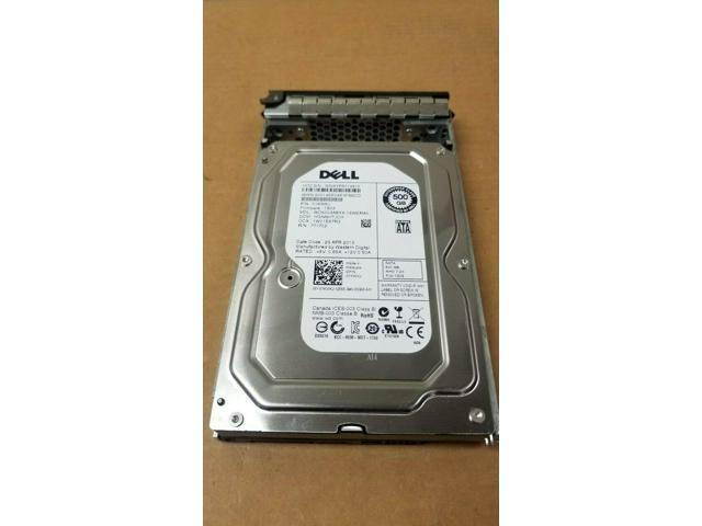 """Dell 01KWKJ 500Gb 7200RPM 1KWKJ Sata ii 64Mb 3.5/"""" HDD W//TRAY x968d Server"""