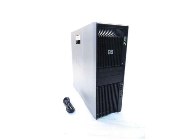 Used - Like New: HP Z600 Workstation | 2 40GHz Xeon Quad Core E5620 | 4gb  DDR3 | DVD-RW - Newegg com