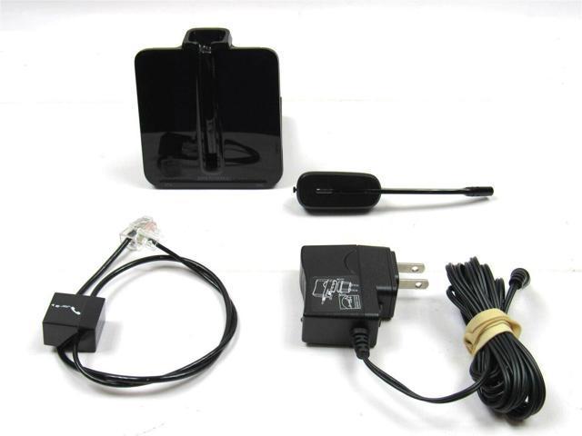 Used Like New Plantronics Cs540 Dect Monaural Wireless Headset System 84693 01 Newegg Com