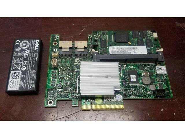 Used - Like New: Dell PERC H700 512MB SAS RAID Controller PowerEdge R510  R610 R710 with Battery - Newegg com