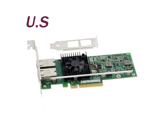 K7H46 0K7H46 X540-T2 DELL CONVERGED DUAL PORT NETWORK ADAPTER