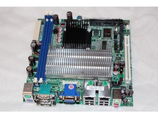 Intel PC Mini-ITX Motherboard Celeron CPU pfsense monowall Untangle Dual Gig LAN