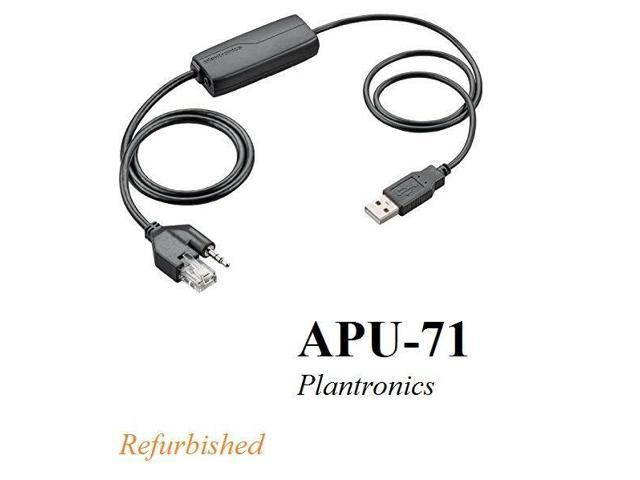 Plantronics APU-72 Electronic Hook Switch EHS Adapter Cisco and Nortel AS APU-71