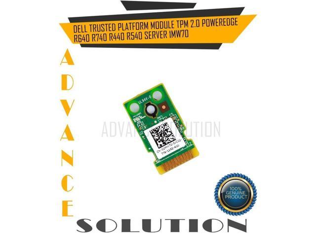 Refurbished: DELL TRUSTED PLATFORM MODULE TPM 2 0 POWEREDGE R640 R740 R440  R540 SERVER 1MW70 - Newegg com