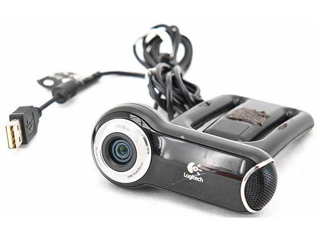 155960a1cb0 Logitech QuickCam Pro 9000 Webcam Web Camera V-U0009 w/2MP Autofocus Glass  Lens