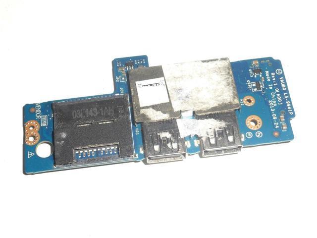 Dell Precision M3800 XPS 15 9530 USB SD Card Reader IO Circuit Board CHB02 07DF4