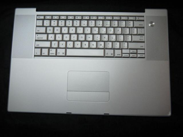 Refurbished: Keyboard Top Case Palm Rest with Trackpad for Apple MacBook  Pro 17
