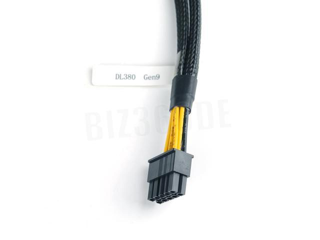 New GPU 10pin to 6+8pin Power Adapter PCIE Cable for HP ProLiant DL380 G9 U.S.