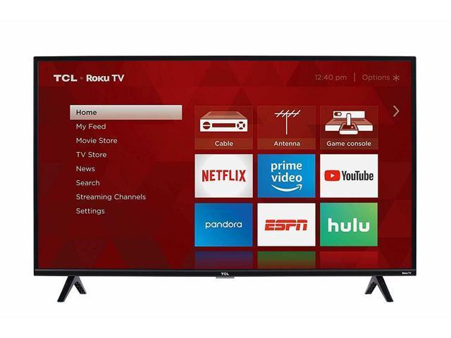 Tcl 40S325 40 Inch 1080P Smart Led Roku Tv (2019) - Newegg com