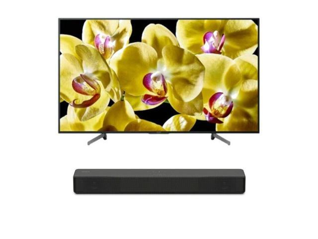 "Sony BRAVIA X800G 43"" Class 4K Ultra HD HDR Smart LED TV with Soundbar -  Newegg com"