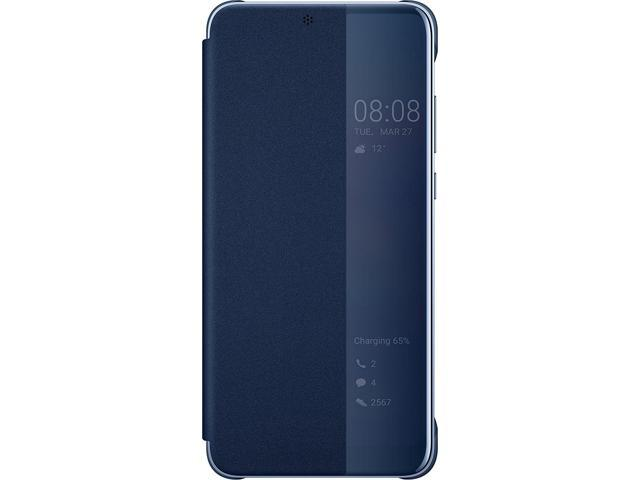 low priced ef294 83e1a Official Huawei P20 Smart View Flip Case - Blue - Newegg.com