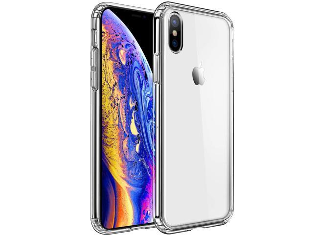 finest selection a5c82 39ef3 MKEKE Compatible with iPhone Xs Case,iPhone X Case,Clear Anti-Scratch Shock  Absorption Cover Case iPhone Xs/X - Newegg.com
