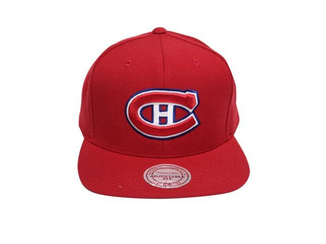 054710f98 closeout montreal canadiens snapback mitchell and ness 1f5ff c41ec