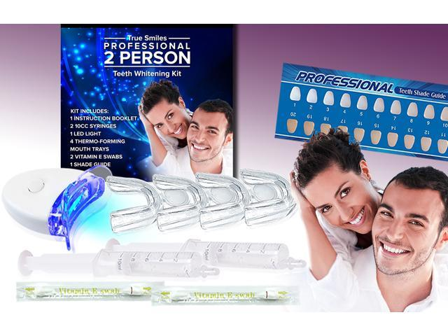 Truesmiles Professional 2 Person Teeth Whitening Kit Newegg Com