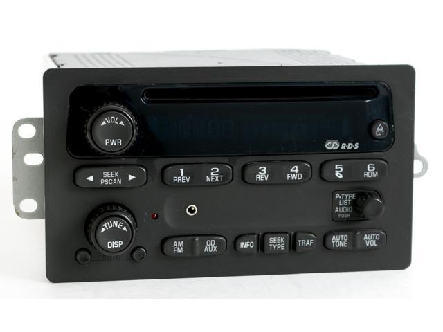 20022003 Chevy Trailblazer Gmc Envoy Radio Am Fm Cd W Aux Rhnewegg: 2003 Chevy Trailblazer Radio At Gmaili.net