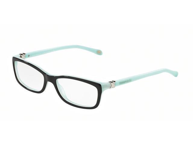 b03d1c6f6ca Tiffany Optical 0TF2036 Full Rim Rectangle Womens Eyeglasses - Size 54 (Top  Black Blue