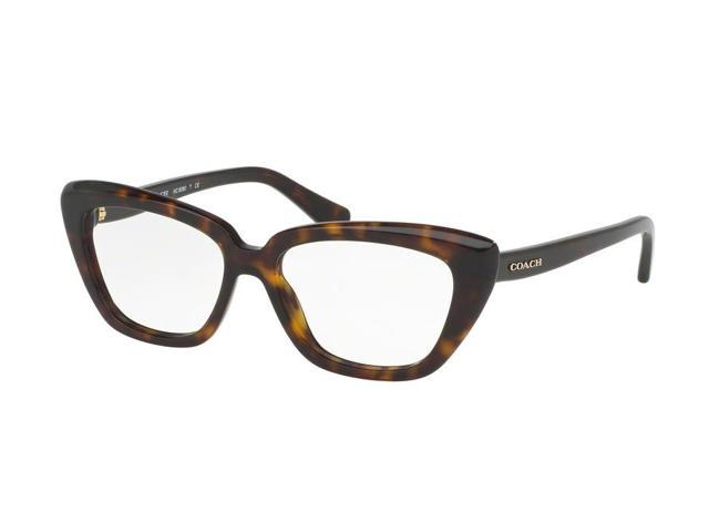 5fb1d03eded Coach 0HC6090 Optical Full Rim Cat Eye Womens Eyeglasses - Size 52 (Dark  Tortoise)