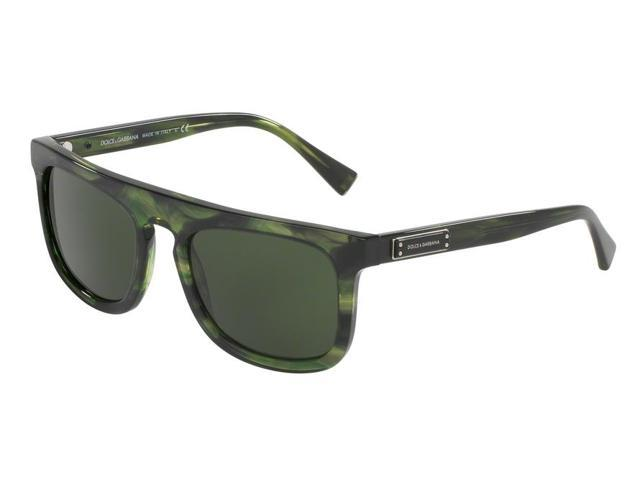 1b89d3967b99 Dolce   Gabbana 0DG4288 Sun Full Rim Square Mens Sunglasses - Size 53  (Striped Green