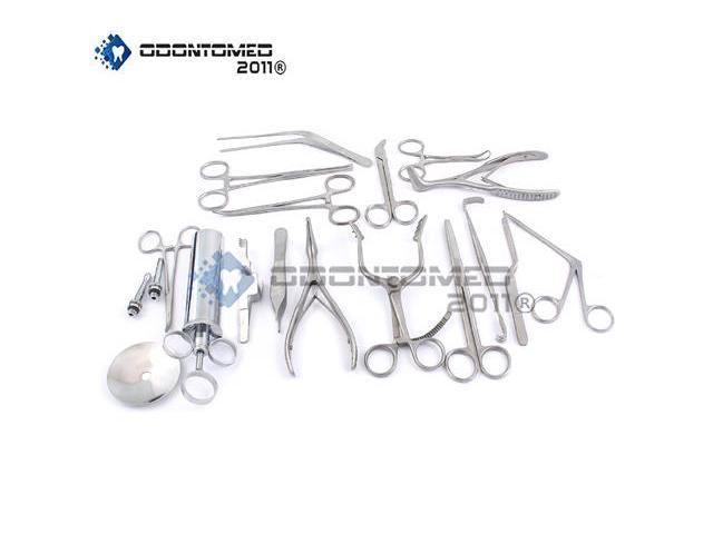 OdontoMed2011 NEW SET OF 16 PCS ( ENT ) EAR AND NOSE