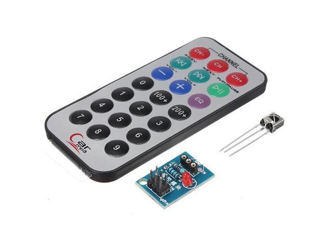 HX1838 Receiver NEC Code Infrared Remote Control Module IR Controller Kit -  Newegg com