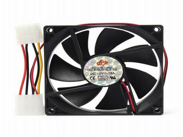 2x DC 12V Silent Cooling Case Fan for PC Computer Quiet Edition CPU Cooler