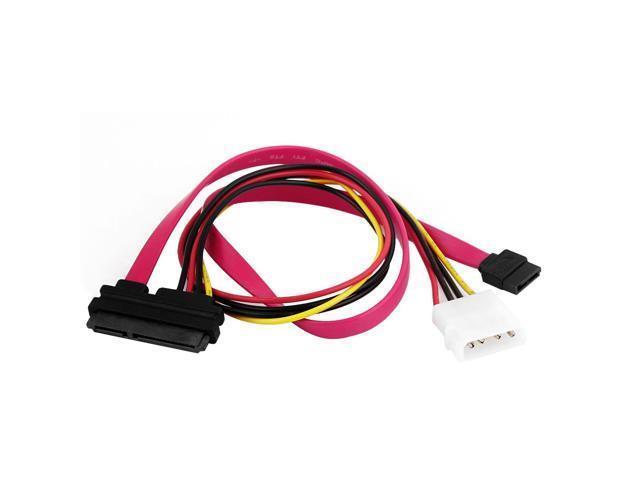 SATA 7+15P 22 Pin to SATA 7 Pin IDE 4 Pin Splitter Power Cable ...