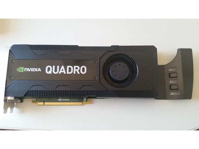 DELL NVIDIA QUADRO K5000 Graphic Video Card 4GB GDDR5 1536 CUDA RCFKT 1536  CUDA - Bulk Packing - Newegg com