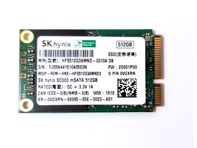Sky Hynix 512GB MSATA SSD MINI   Solid State Drive